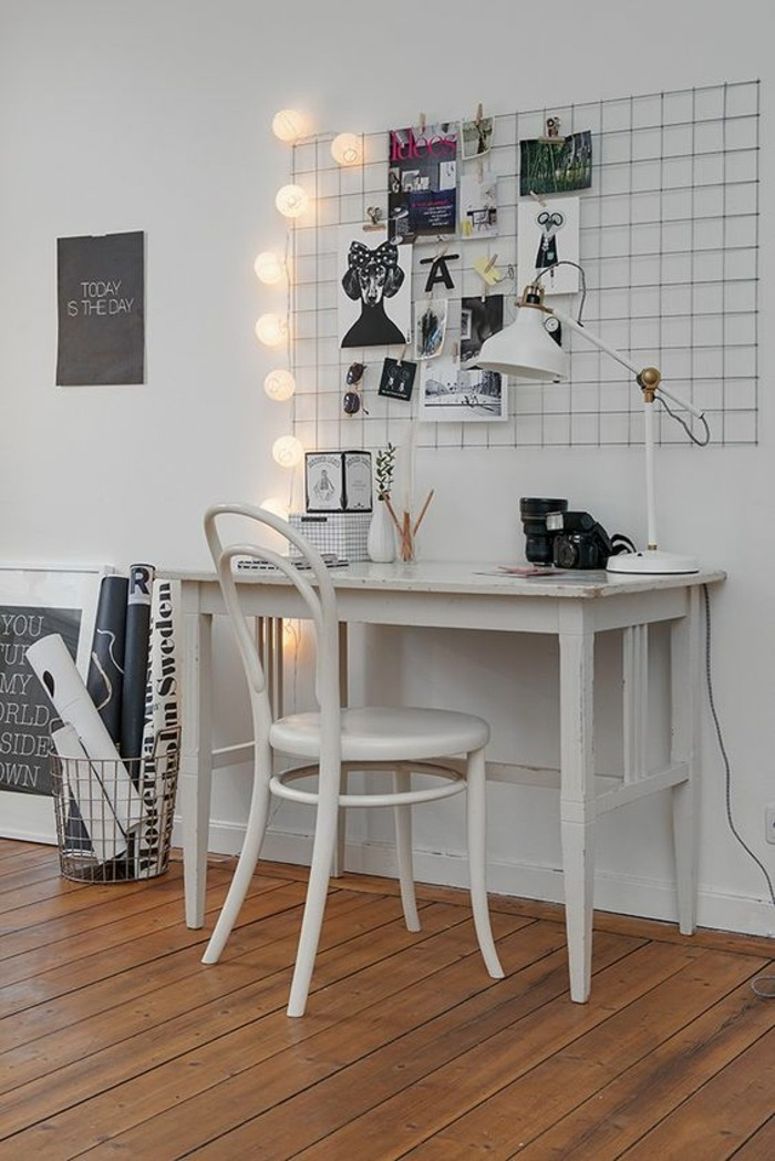 bureau-laque-blanc-interieur-scandinave-bureau-de-travail