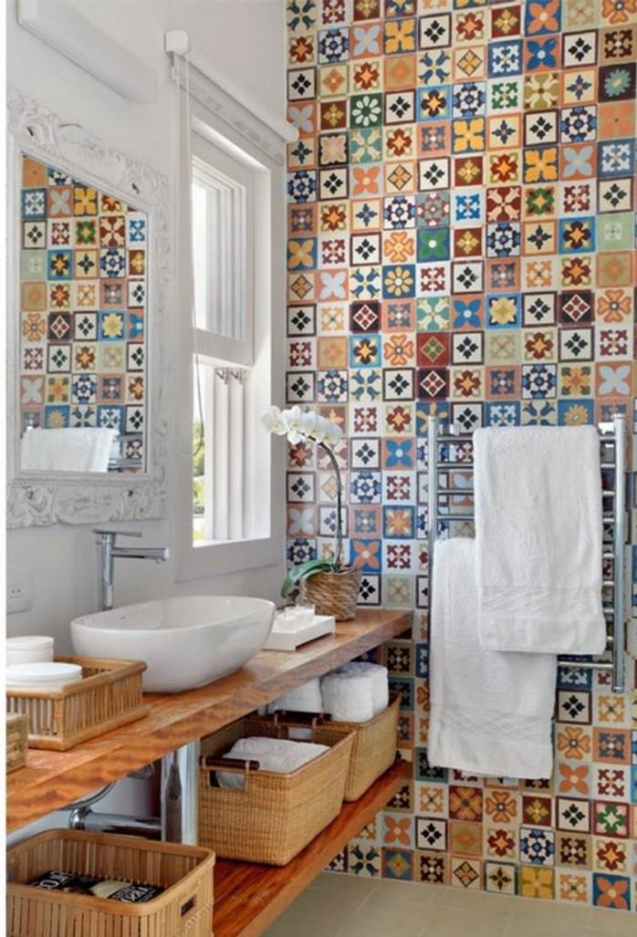carrelage-ancien-deco-murale-de-salle-de-bain-meuble-vasque-bois