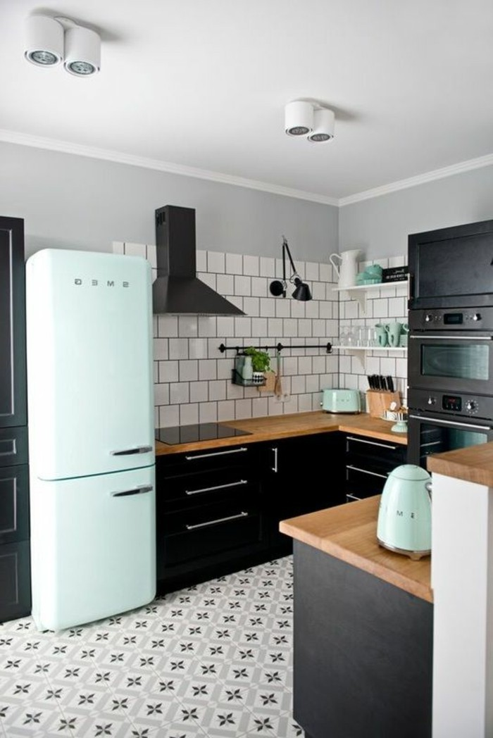 cuisine avec carreaux de ciment db86 jornalagora. Black Bedroom Furniture Sets. Home Design Ideas