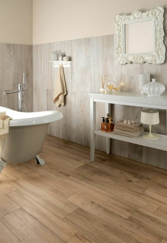 bathroom wood floor tile walls le carrelage aspect bois en 74 photos quels sont ses 22602
