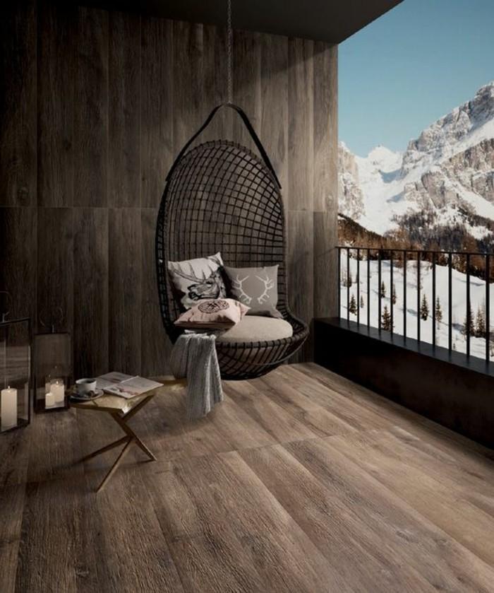 carrelage-aspect-bois-chaise-oeuf-interieur-chalet