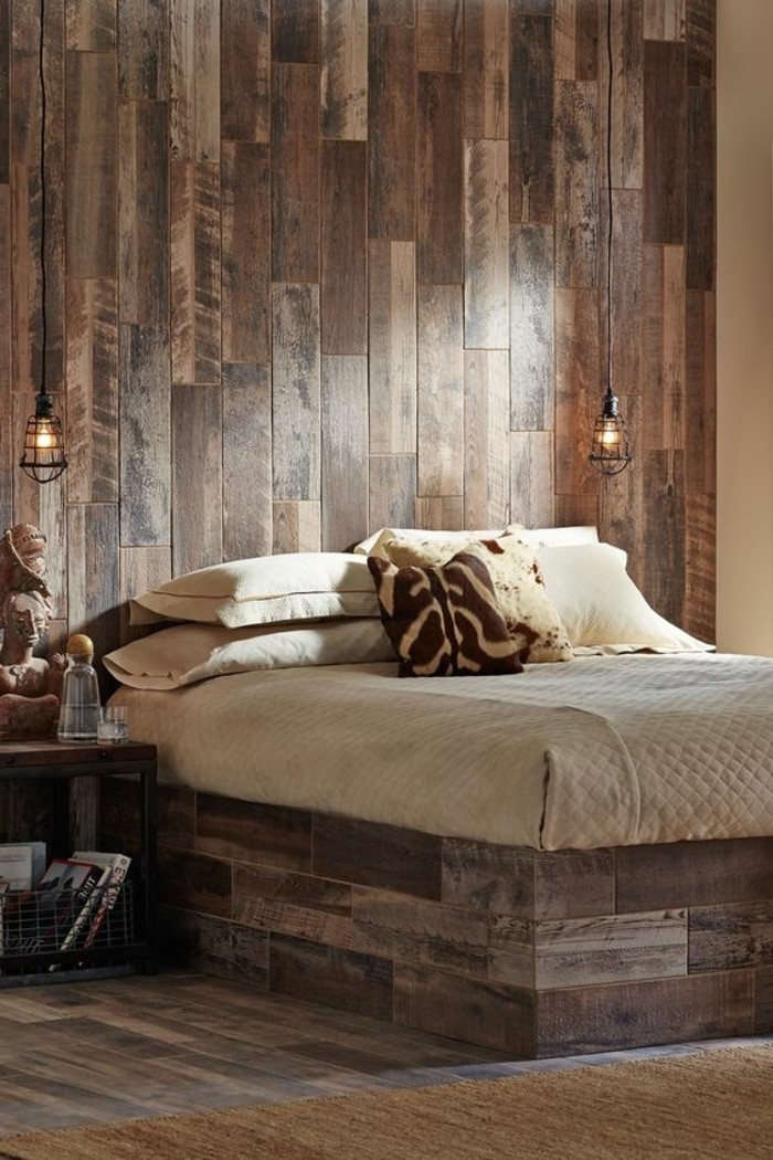 Awesome Chambre Style Montagnard Contemporary - Yourmentor.info ...