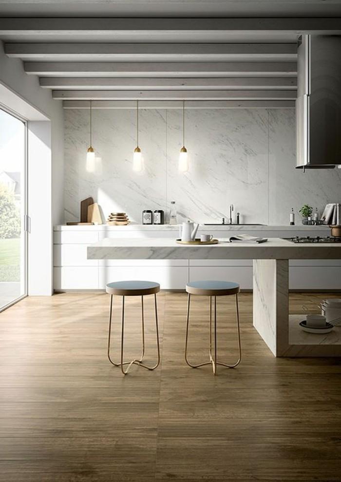 carrelage-aspect-bois-cuisine-style-industriel-sol-carrelage-imitation-bois