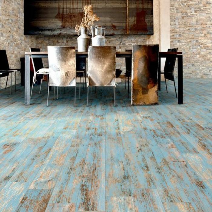 carrelage-aspect-bois-nuance-avec-du-bleu-salle-a-manger