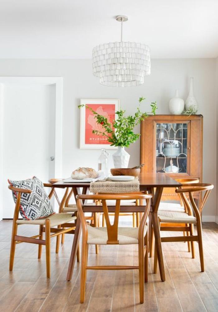 Salle a manger chaleureuse simple amenagement et decoration dune maison ultra idee deco salle - Jardin champetre rustique lyon ...