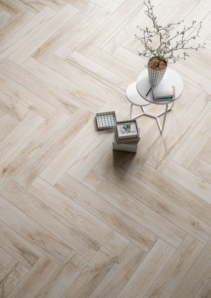 Le carrelage aspect bois en 74 photos quels sont ses - Carrelage aspect parquet ...