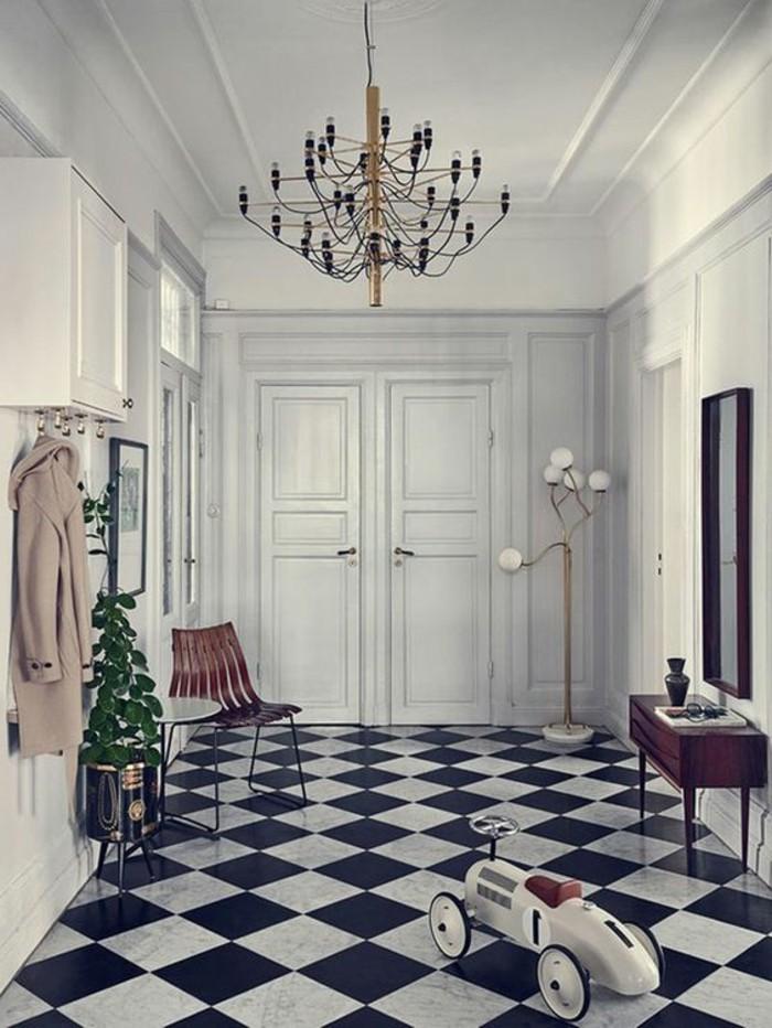 carrelage-damier-noir-et-blanc-interieur-style-victorien