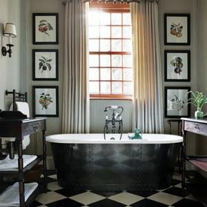 Le carrelage damier noir et blanc en 78 photos