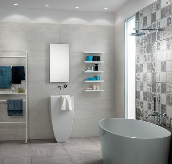 carrelage-effet-beton-baignoire-a-poser-blanche-vasque-colonne