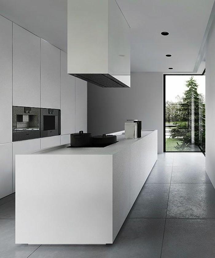carrelage-effet-beton-cuisine-moderne-effet-beton-grand-ilot-de-cuisine