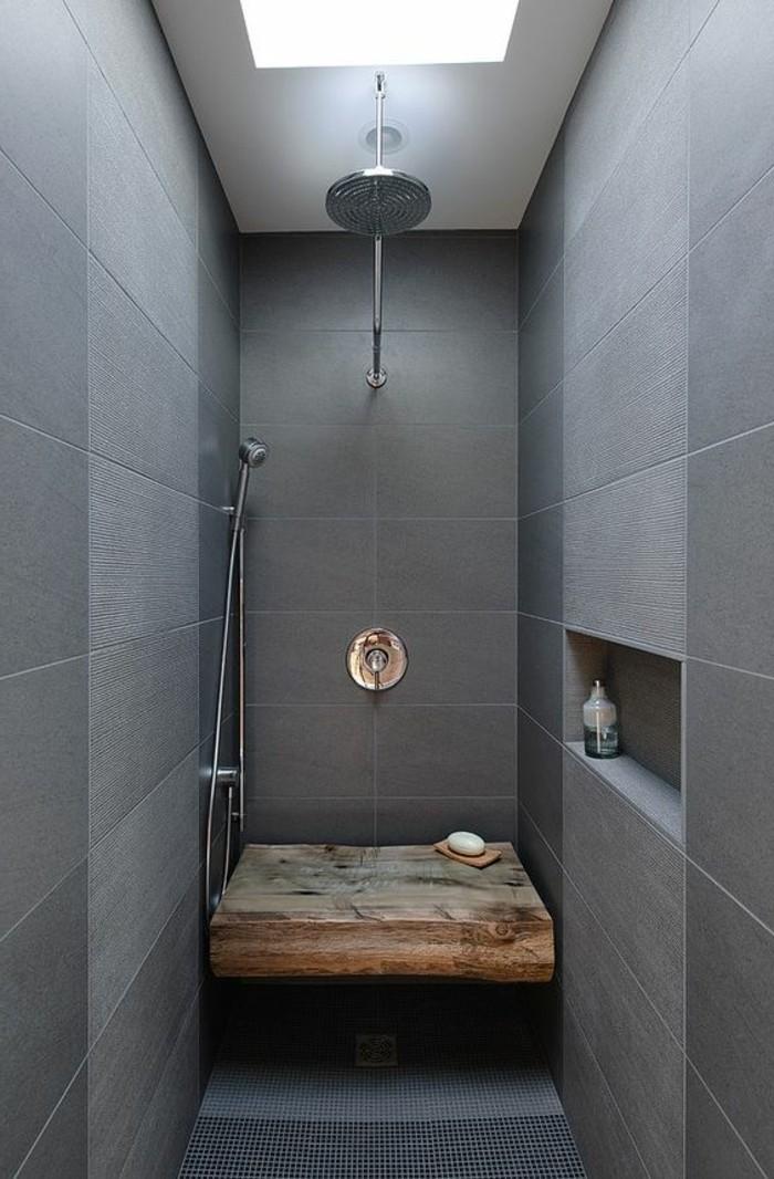 carrelage-effet-beton-douche-zen-avec-banc-bois-naturel