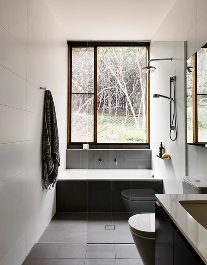 Carrelage Effet Beton Mobilier Minimaliste Design De Maison