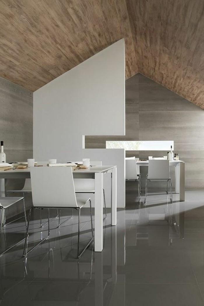 carrelage-effet-beton-salle-a-manger-carreaux-sol
