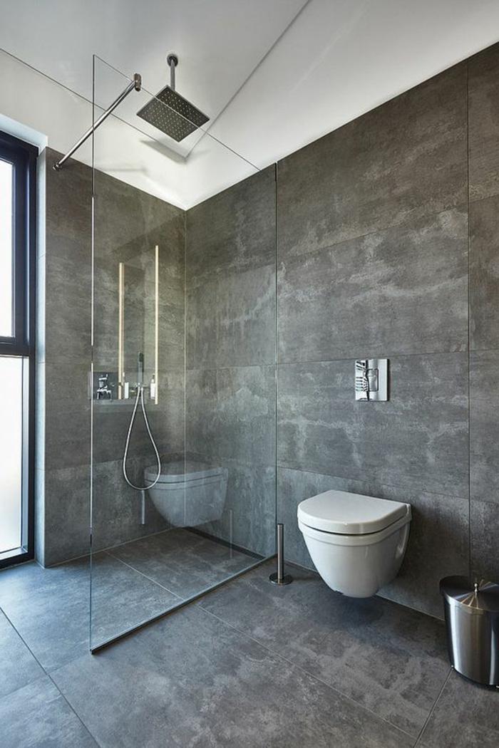 carrelage-effet-beton-salle-de-bain-grise-avec-carreaux-imitant-beton