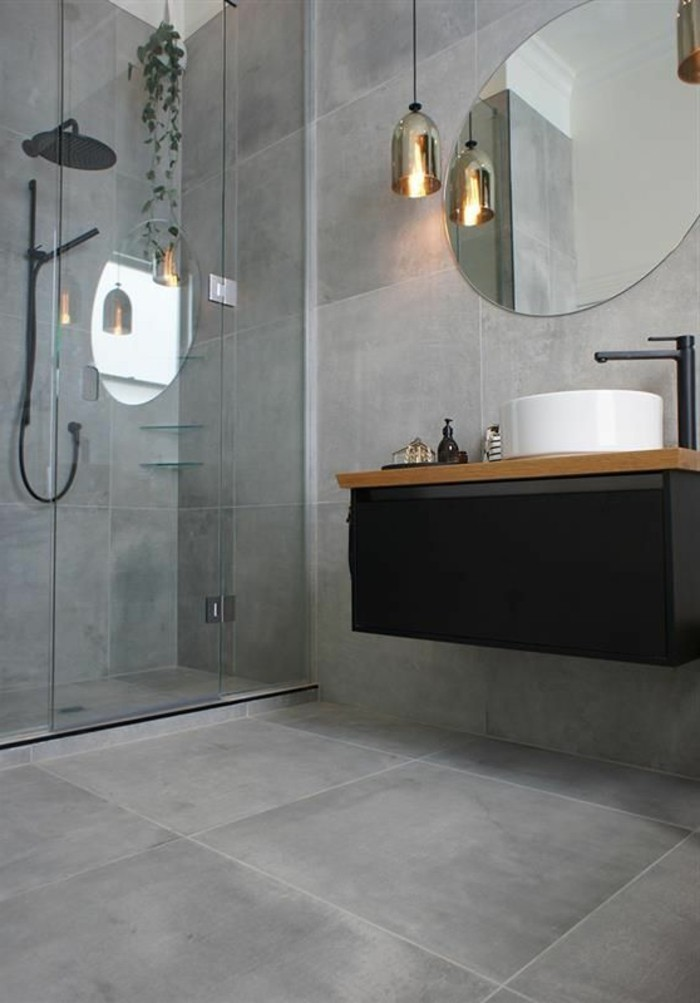 carrelage-effet-beton-salle-de-bain-moderne-avec-carrelage-imitation-beton