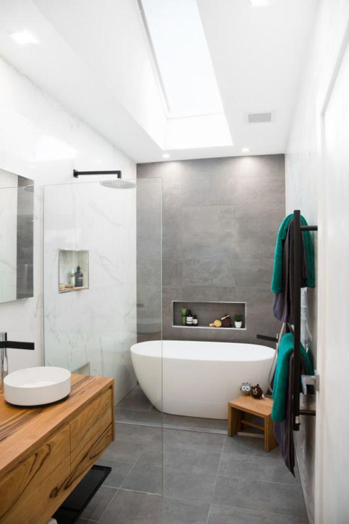 59 salles de bain chic qui vous montrent le beaut du for Ensuite designs 2016