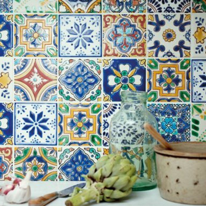 Comment adopter le carrelage patchwork son int rieur for Carrelage style ancien cuisine