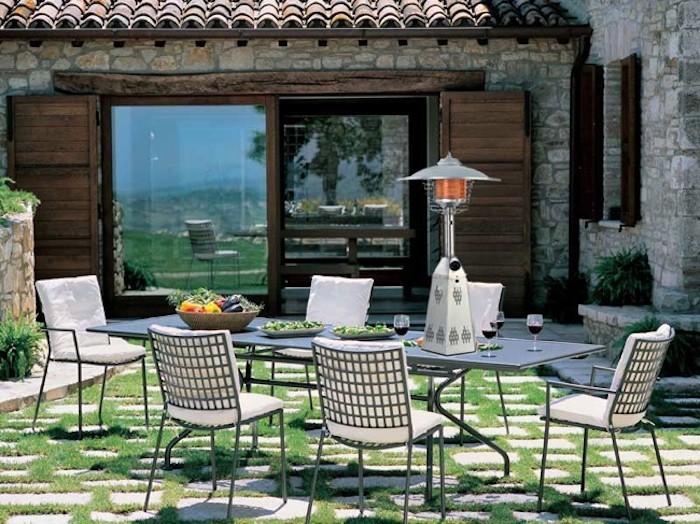 champignon-chauffant-lampe-chauffante-table