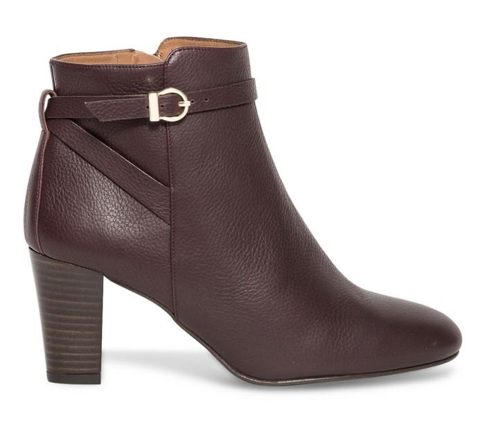 chaussure-a-la-mode-bottine-plate-brunes