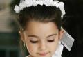 Coiffure communion – 60 idées géniales pour les petites demoiselles