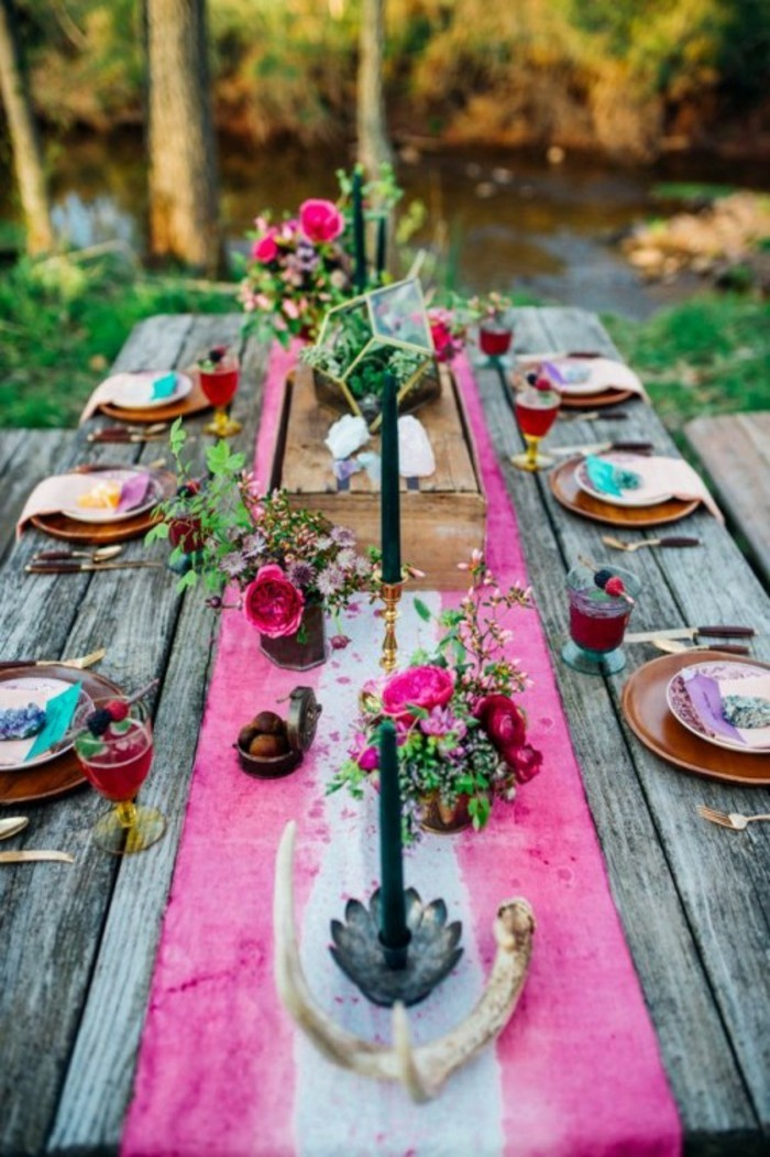 chouette-deco-champetre-chic-deco-table-mariage-rose