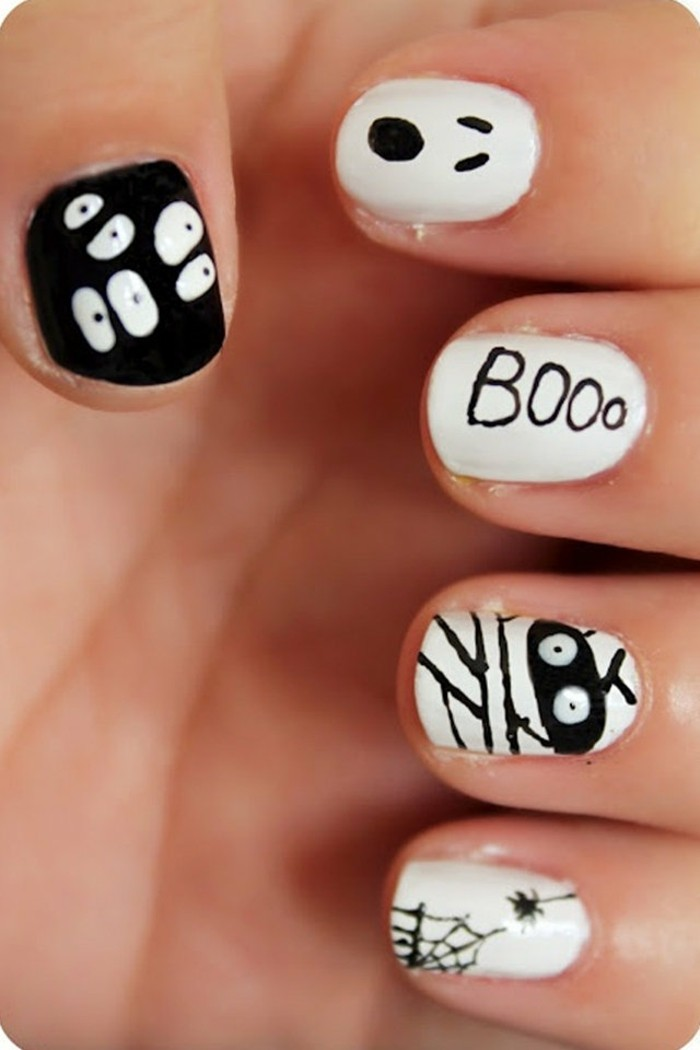chouette-deco-ongle-gel-dessin-ongle-idee-decoration-ongle-art-halloween