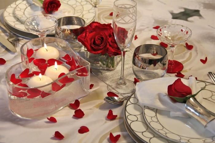 Trouvez la meilleure id e repas romantique - Idee deco romantique ...