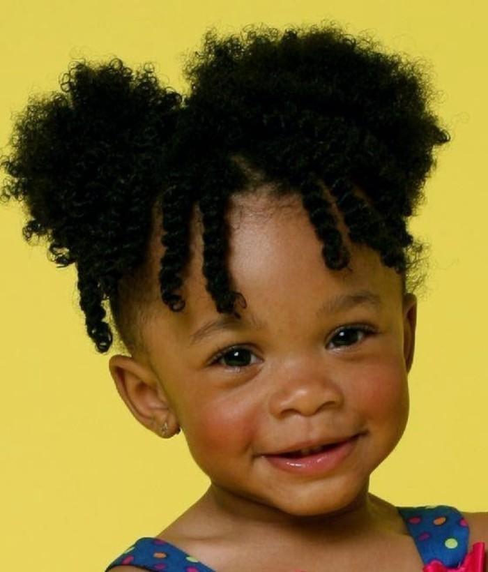 Cheveux Crepus 32 Coiffures Pour Petite Fille