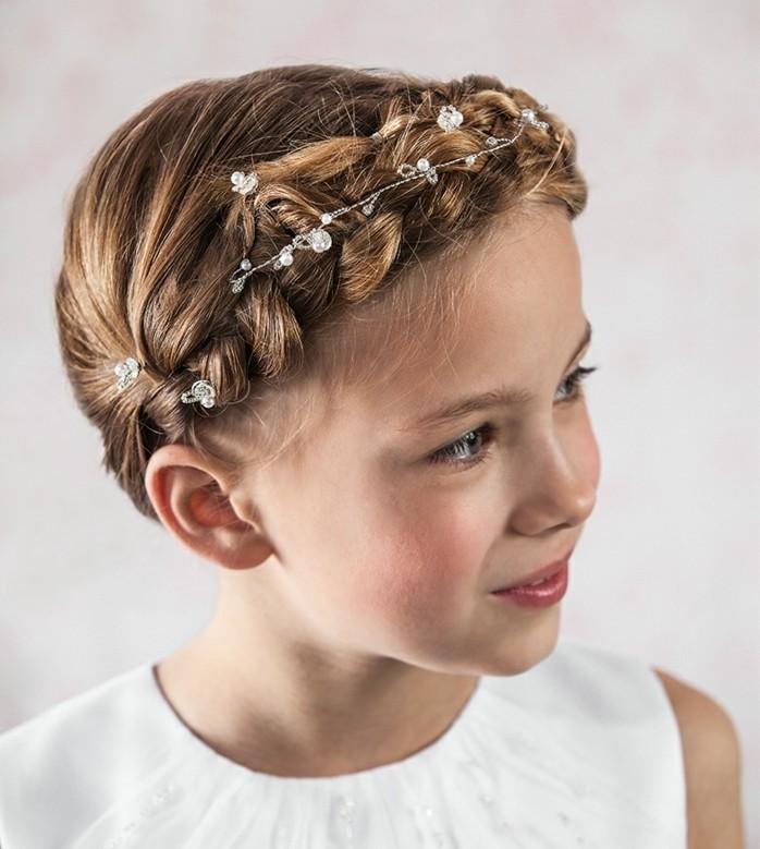 Coiffure petite fille ceremonie id es de conception sont int ressants votre - Coiffure pour communion ...