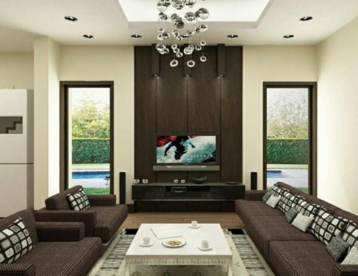 comment-choisir-la-bonne-couleur-de-peinture-pour-salon-meubles-en-marron-fonce-mur-beige-lustre-design