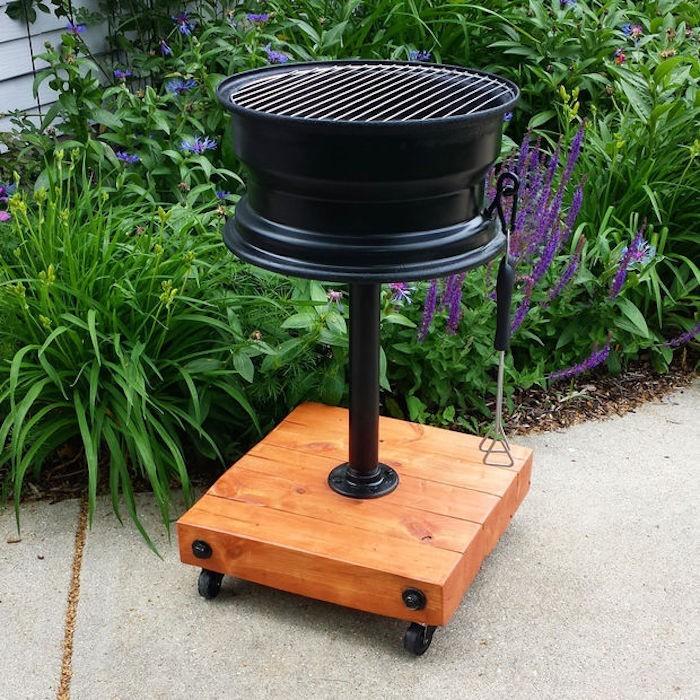 1001 id es fabriquer un barbecue 40 id es diy pour cet t. Black Bedroom Furniture Sets. Home Design Ideas