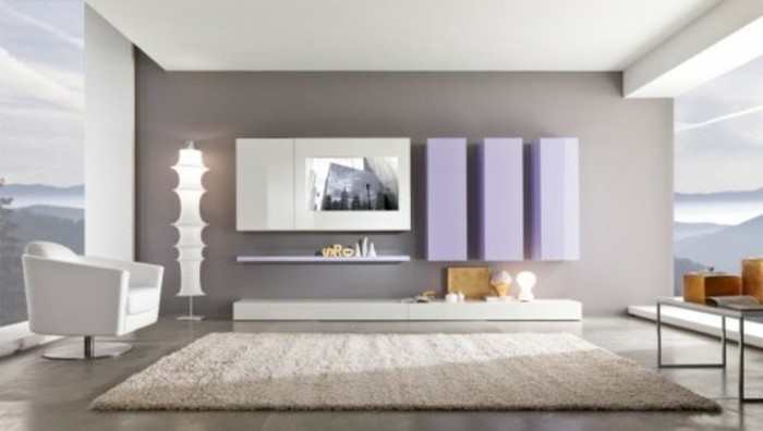 on met l 39 accent sur la couleur de peinture pour salon. Black Bedroom Furniture Sets. Home Design Ideas