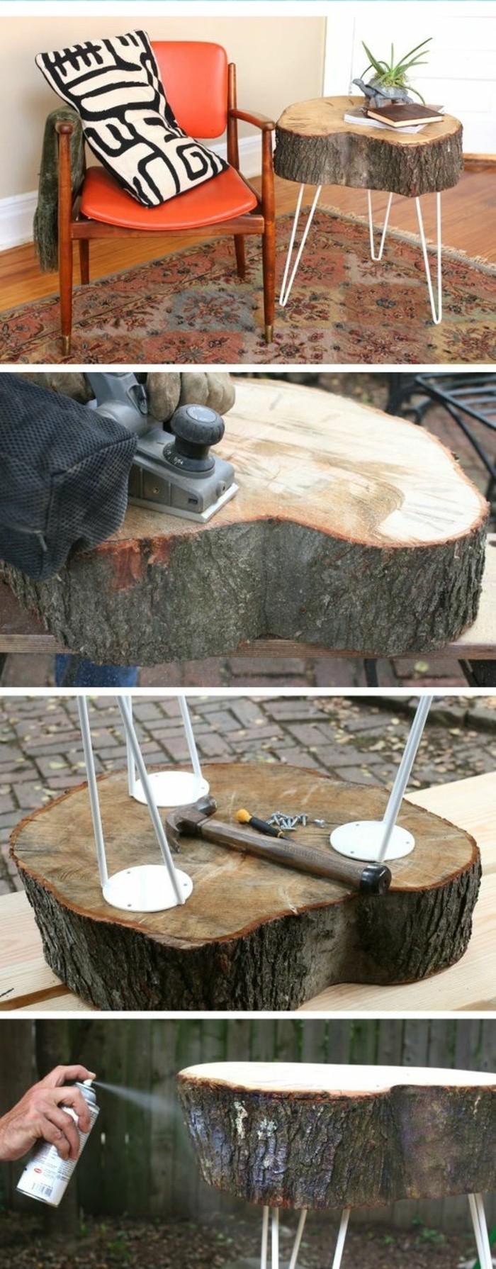 Cr ation en bois flott for Meuble bois flotte chambre