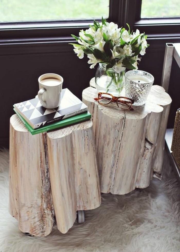 creation-en-bois-flotte-table-fleur-buches-deux