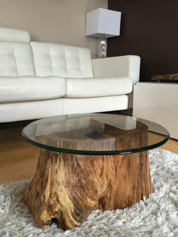 creation-en-bois-flotte-table-verre-tapis-salon-moderne