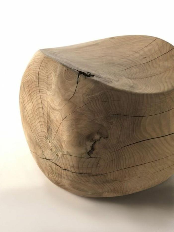 creation-en-bois-flotte-tabouret-ronde-massif
