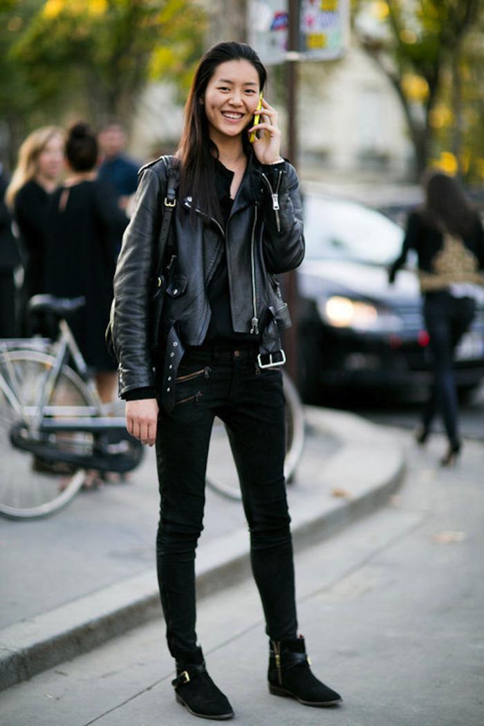 de-belle-idee-entretien-veste-cuir-tenue-rock-chic-idee-belle-femme