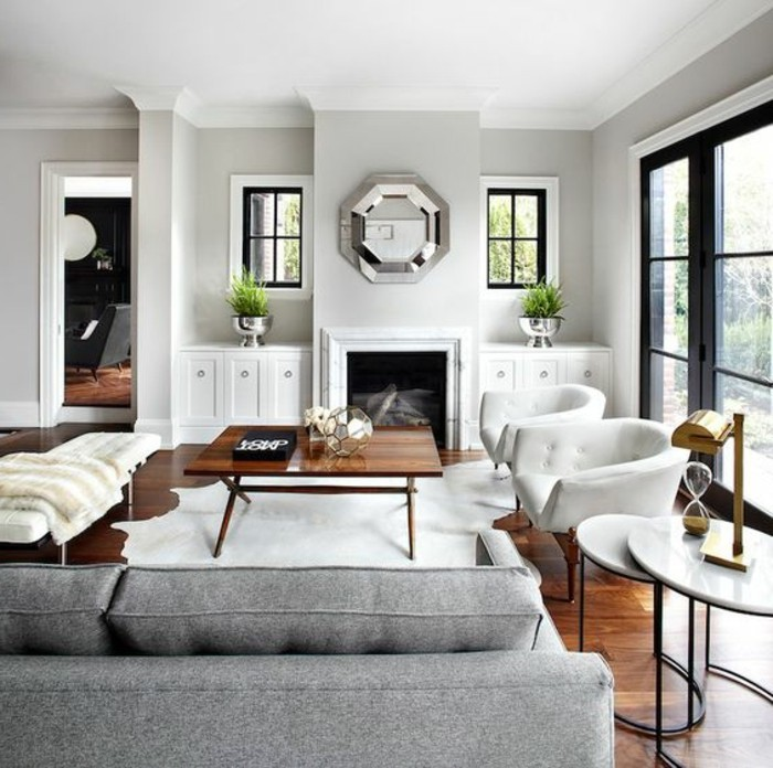 deco-salon-blanc-avec-un-canpe-gris-superbes-fauteuils-blancs-et-couleur-mur-salon-blanche-amenagement-salon-luxe