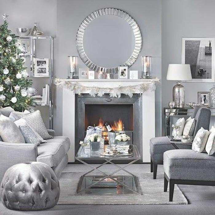 deco-salon-gris-avec-des-accents-blancs-formidable-cheminee-salon-ambiance-cosy-deco-salon-moderne-et-accueillant