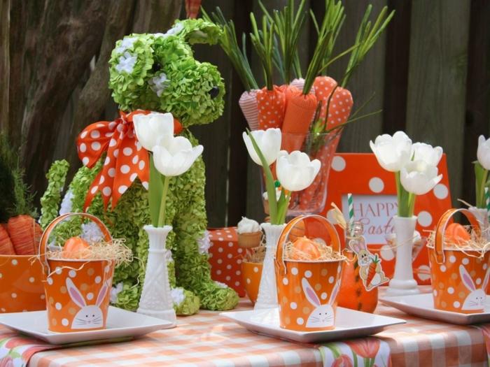 deco-table-paques-superbe-orange-et-vert-couleurs-predominantes-idee-joyeuse