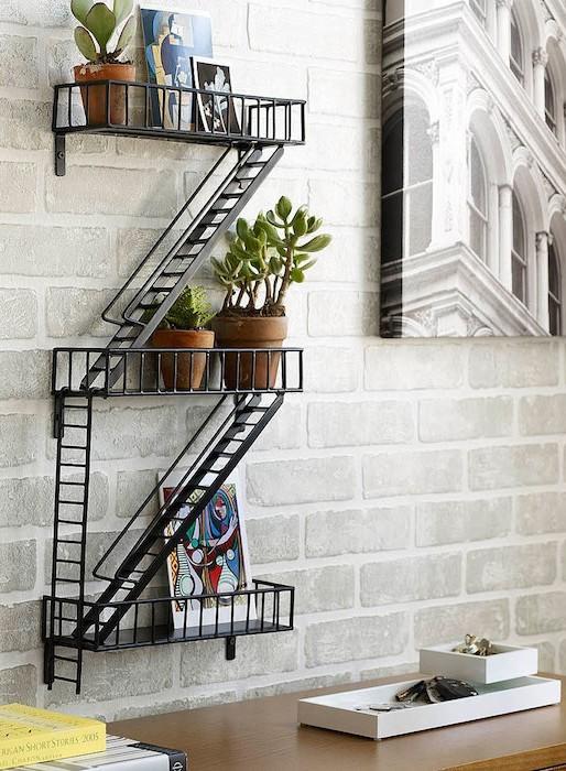 Awesome Idee Deco Mur Escalier Ideas - Design Trends 2017 ...