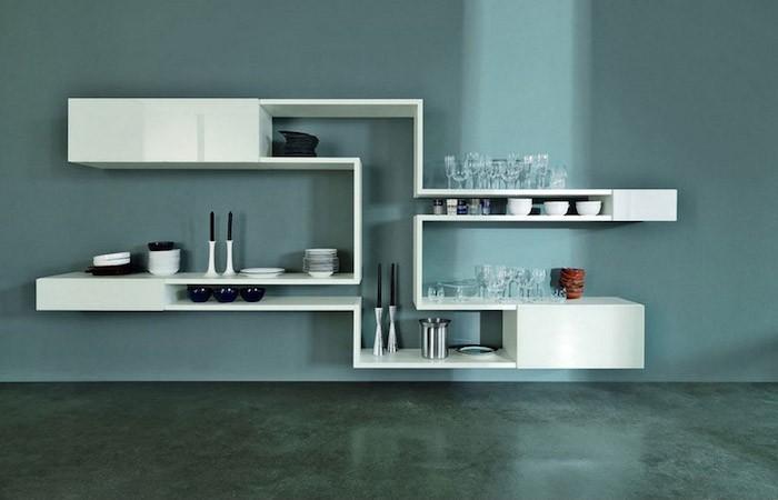 etagere-murale-cuisine-design-blanche-bloc-contemporain-idee-design
