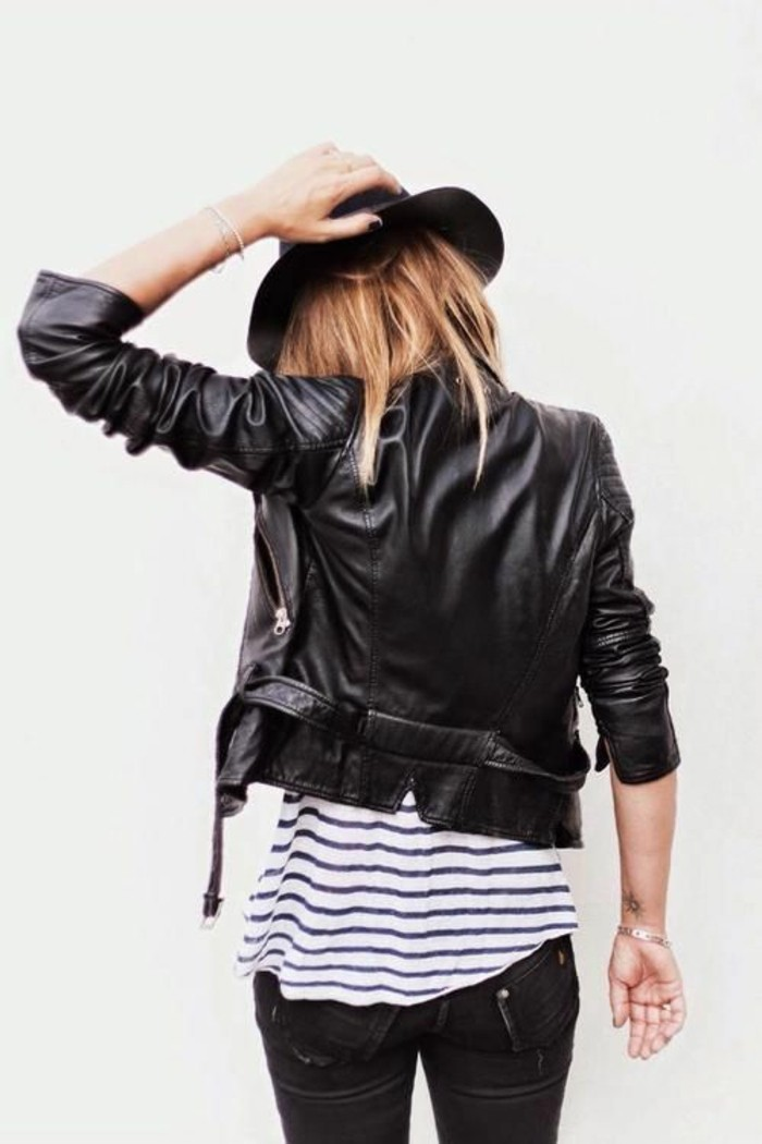 entretien-veste-cuir-tenue-rock-chic-idee-jean-noir