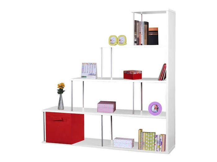 elegant affordable with etagere blanche conforama with meuble multikaz. Black Bedroom Furniture Sets. Home Design Ideas