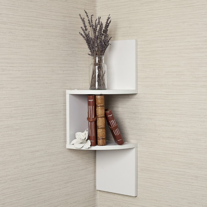 etagere-blanche-murale-d-angle-mur-design