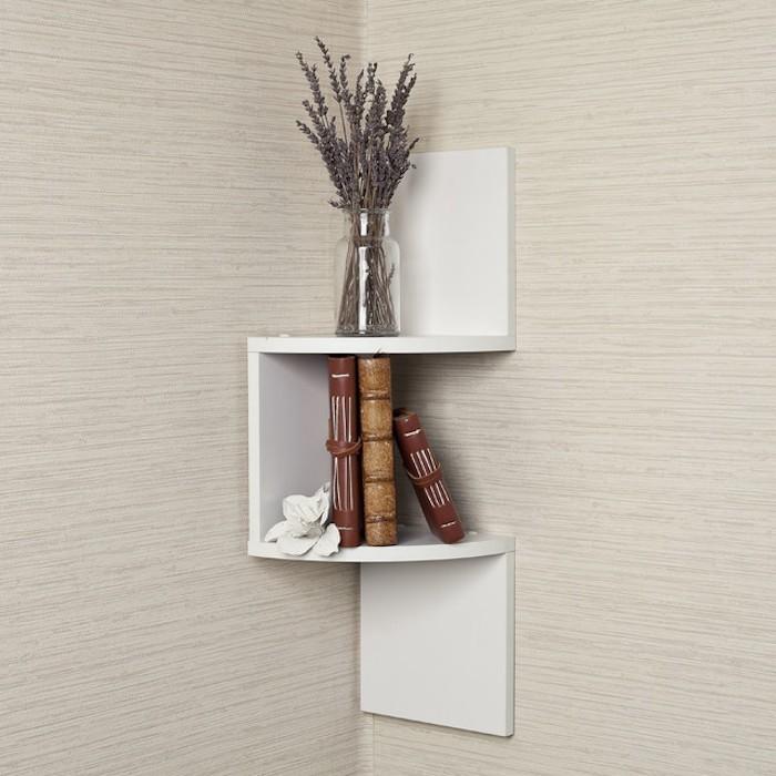 etagere-blanche-murale-d-angle-mur-design