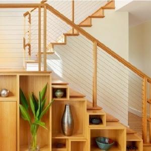 Étagère escalier – Sous les marches, la place ! 44 idées design