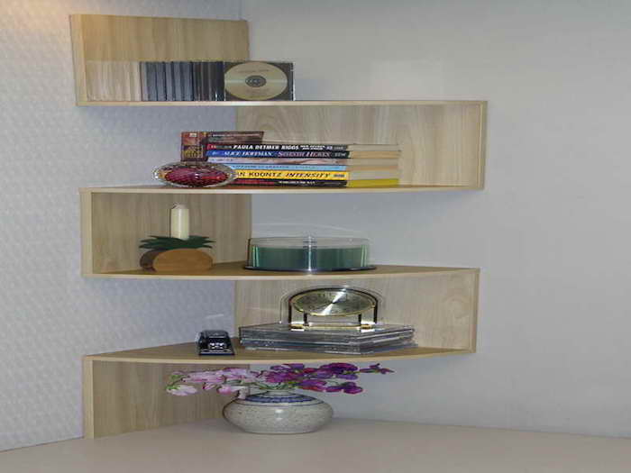 Tag re d 39 angle murale arrondissez les angles for Etagere salle de bain design