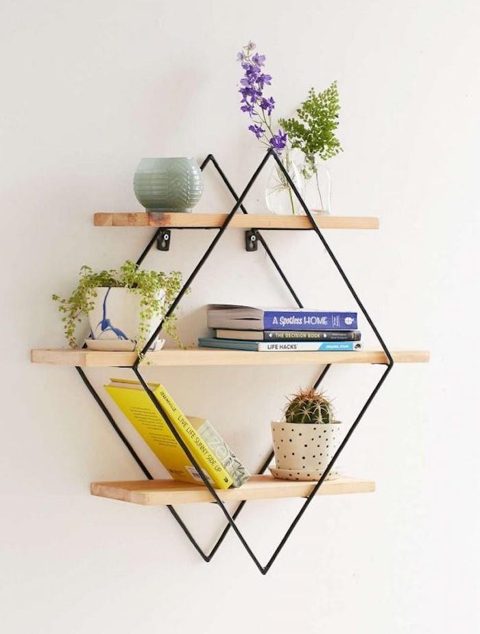 etagere-trapeze-simple-murale-bois-metal-cuisine