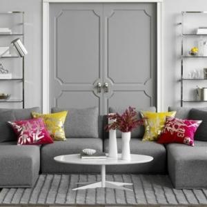 Un salon en gris et blanc, c'est chic! Voilà 82 photos qui en témoignent